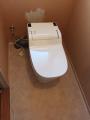 トイレ取替工事(床CF張替え共) 東京都練馬区 XCH1101PWS