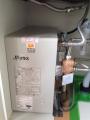 小型電気温水器取付工事 埼玉県坂戸市 EHPN-F13N2