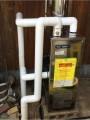石油給湯器取替工事 岡山県倉敷市 IB-4512SG