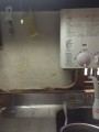 小型瞬間湯沸かし器取替工事 兵庫県明石市 GQ-521MW-LPG