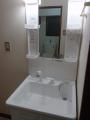 洗面化粧台 トイレ取替工事 神奈川県横浜市港南区 CS230BM-SH231BA-W