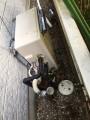 ガス給湯器 洗面化粧台取替工事 埼玉県鴻巣市 RUF-A2003SAG-A-set-13A