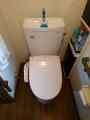 トイレ 2台取替工事 千葉県茂原市 CS230B-SH231BA-W