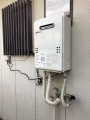 ガス給湯器取替工事 千葉県千葉市美浜区 GQ-1639WS-1-set-13A