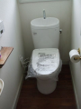 トイレ取替工事 福島県白河市 CS330BH-SH333BN-NW1