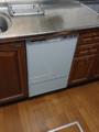 ビルトイン食洗機取替工事 広島県広島市西区 RSW-F402C-SV
