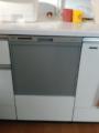 ビルトイン食洗機取替工事 静岡県焼津市 RKW-404A-SV