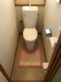 トイレ取替工事 茨城県つくばみらい市 BC-ZA10H-120-DT-ZA180H-BW1