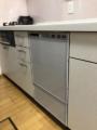 ビルトイン食洗機取替工事 和歌山県和歌山市 RSW-F402C-SV