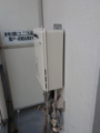 ガス給湯器取替工事 埼玉県三郷市 RUJ-A1610W-13A