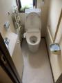 トイレ取替工事 神奈川県茅ヶ崎市 XCH3013WST