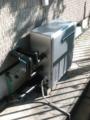 ガス給湯器取替工事 静岡県静岡市清水区 RUF-E2008SAG-B-set-LPG