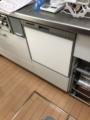 ビルトイン食洗機取替工事 神奈川県川崎市多摩区 RSW-404A-SV