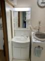 洗面化粧台取替工事 和歌山県和歌山市 GQM60KSCW-set1