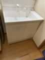 洗面化粧台取替工事 千葉県野田市 PV1N-755SY-set1